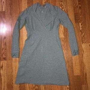 Grey Long Sleeve Athleta Dress Size Small